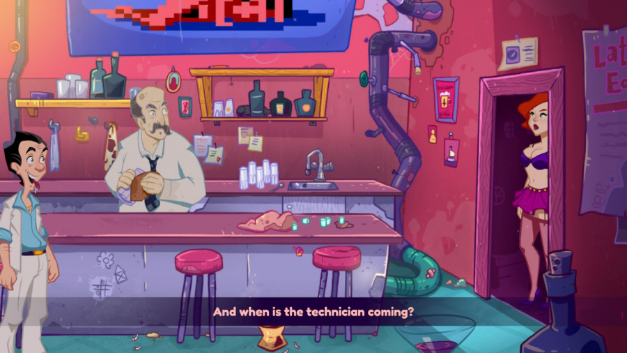 Leisure Suit Larry - Wet Dreams Don't Dry Review - Screenshot 3 of 3