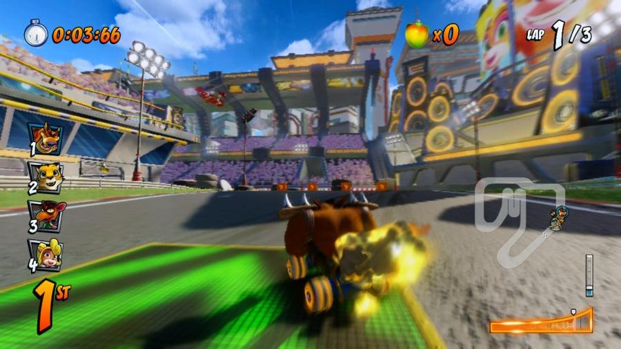 Crash Team Racing Nitro-Fueled Review - Screenshot 1 of 6