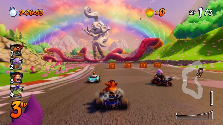 Crash Team Racing Nitro-Fueled Review - Screenshot 1 of 6