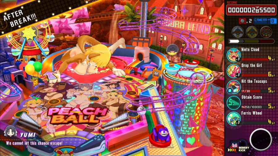 Senran Kagura: Peach Ball Review - Screenshot 1 of 6