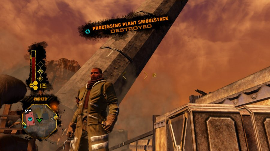 Red Faction: Guerrilla Re-Mars-tered Review - Screenshot 1 of 4
