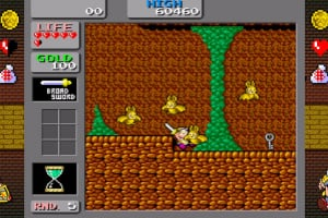 SEGA AGES Wonder Boy: Monster Land Screenshot