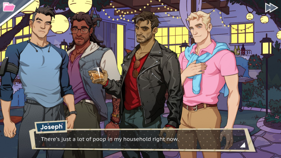 Dream Daddy: A Dad Dating Simulator Review - Screenshot 5 of 5