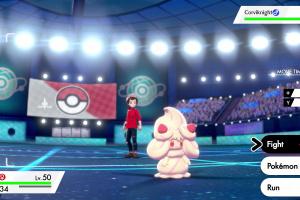 Pokémon Sword and Shield Screenshot