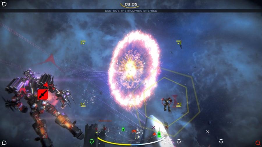 War Tech Fighters Review - Screenshot 2 of 4