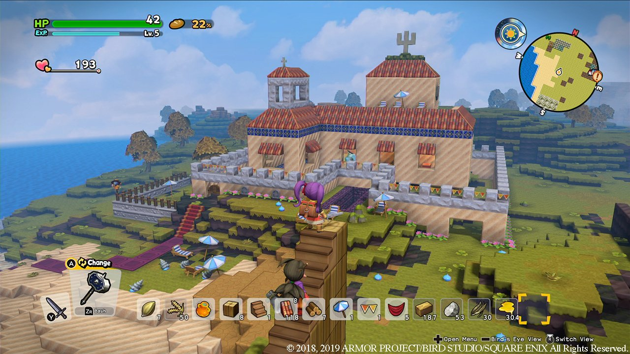 Dragon Quest Builders 2 Review (Switch)   Nintendo Life