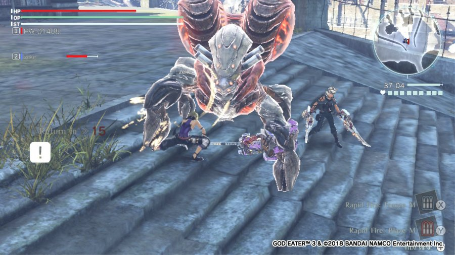 God Eater 3 Review - Screenshot 1 of 4