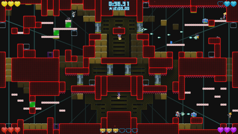 Mighty Switch Force! Collection Review - Screenshot 3 of 4