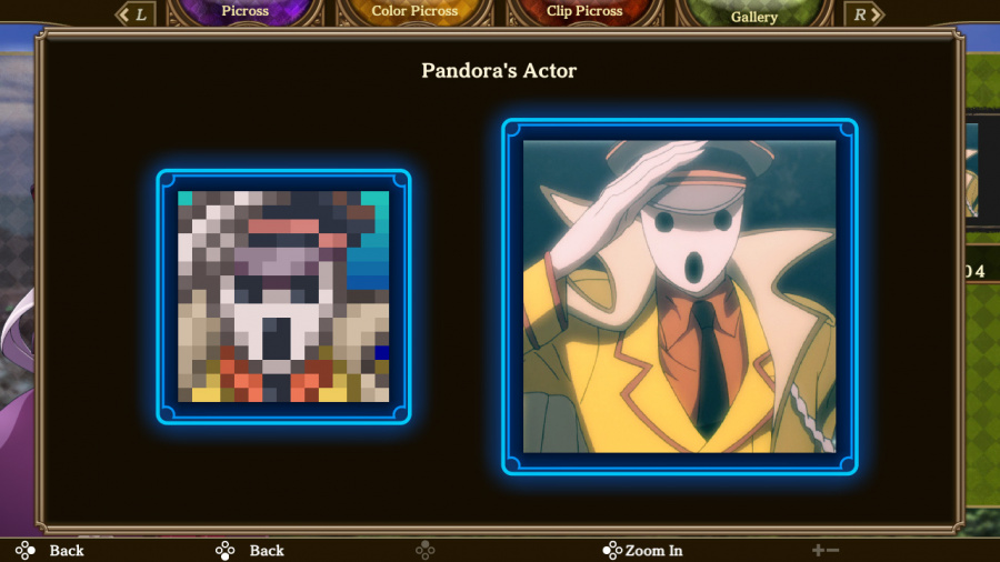 Picross Lord Of The Nazarick Review - Screenshot 2 of 5