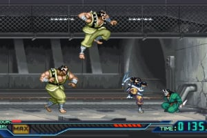 The Ninja Saviors: Return of the Warriors Screenshot