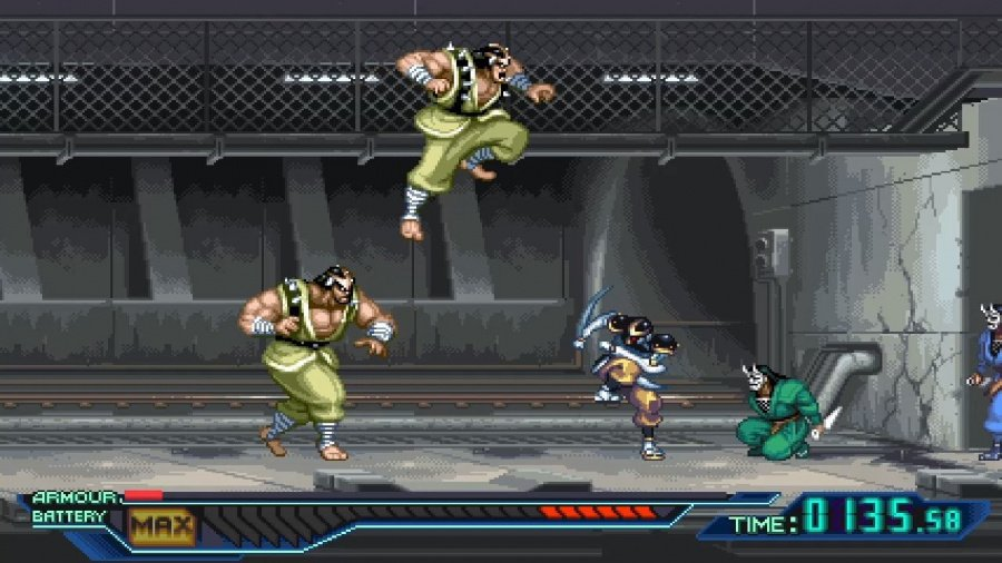 The Ninja Saviors: Return of the Warriors Review - Screenshot 1 of 4
