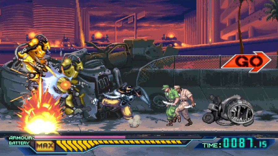 The Ninja Saviors: Return of the Warriors Review - Screenshot 2 of 4