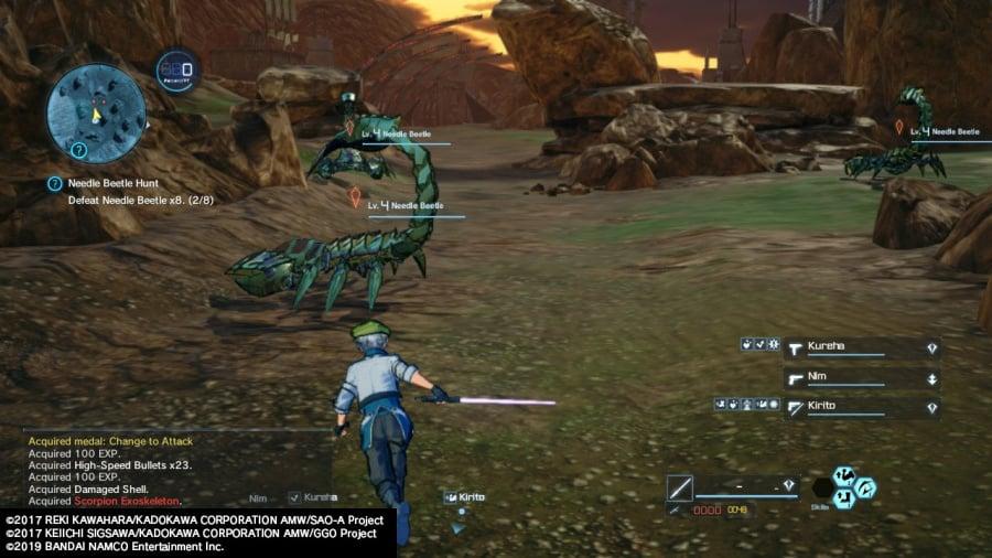 Sword Art Online: Fatal Bullet Complete Edition Review - Screenshot 3 of 7