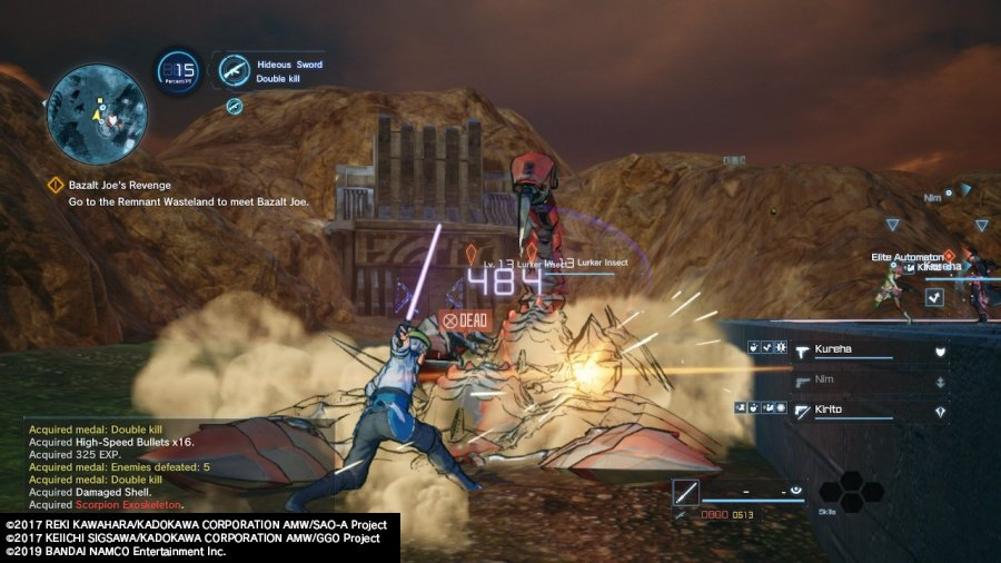 Sword Art Online: Fatal Bullet Complete Edition Review - Screenshot 4 of 7