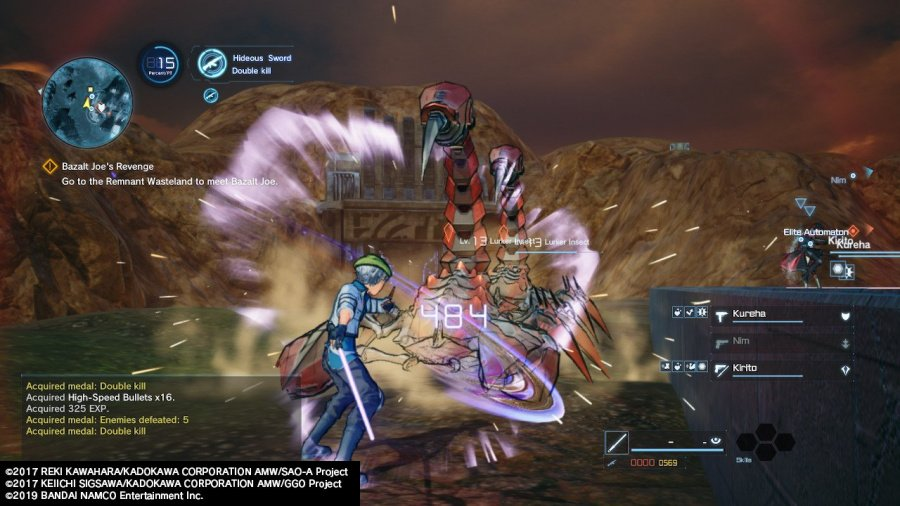 Sword Art Online: Fatal Bullet Complete Edition Review - Screenshot 2 of 7