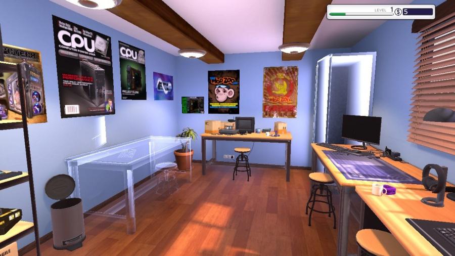 PC Building Simulator Review - Screenshot 1 of 7