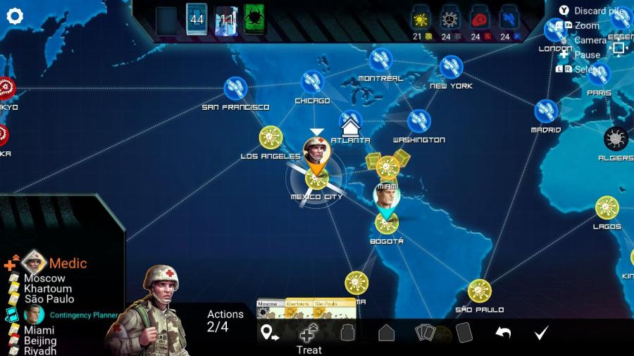 Pandemic Review - Screenshot 3 of 4