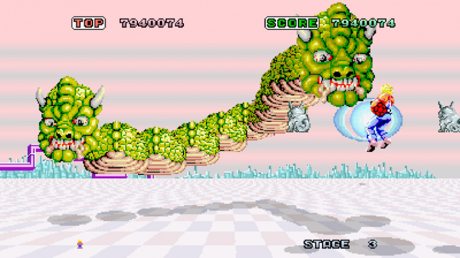 SEGA AGES Space Harrier Review - Screenshot 1 of 5