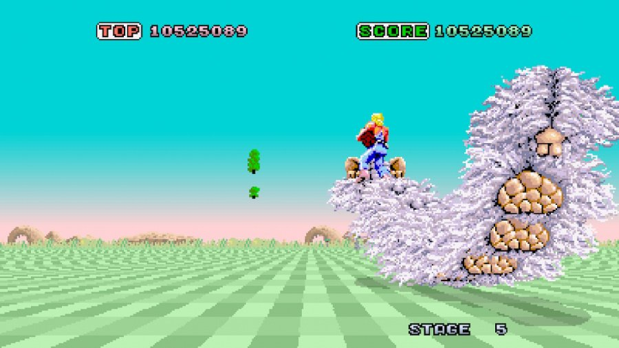 SEGA AGES Space Harrier Review - Screenshot 5 of 5