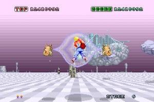 SEGA AGES Space Harrier Screenshot