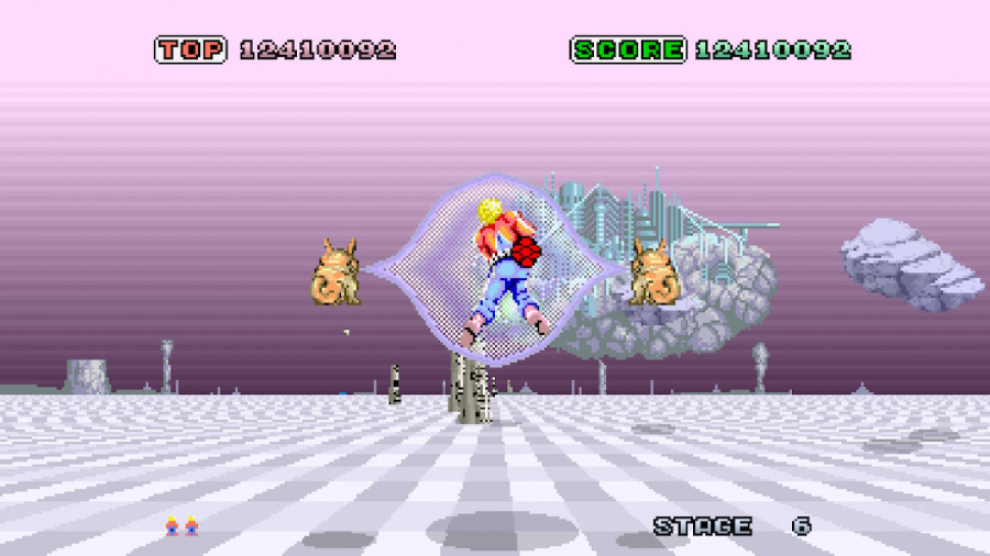SEGA AGES Space Harrier Review - Screenshot 2 of 5