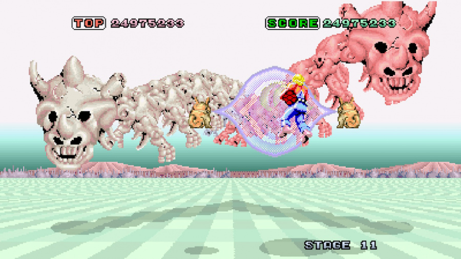 SEGA AGES Space Harrier Review - Screenshot 3 of 5