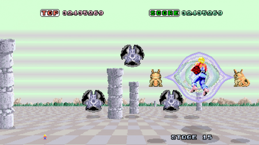 SEGA AGES Space Harrier Review - Screenshot 4 of 5