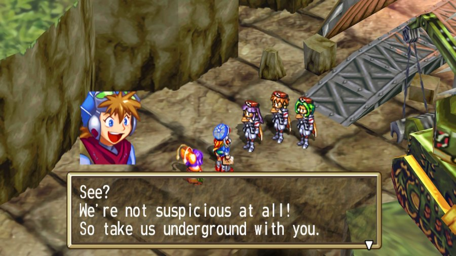 Grandia HD Collection Review - Screenshot 1 of 5