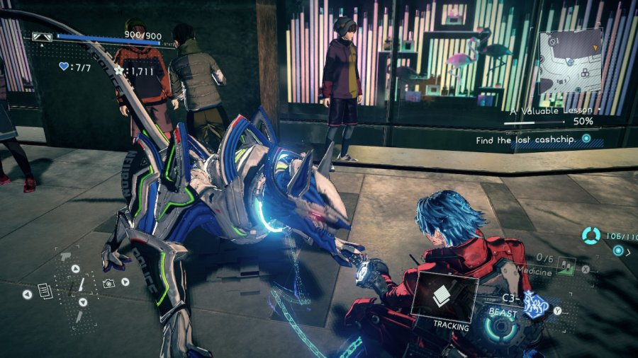 Astral Chain Review - Screenshot 3 of 9