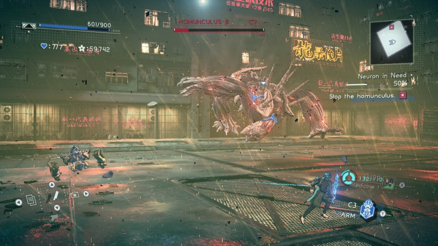 Astral Chain Review - Screenshot 1 of 9
