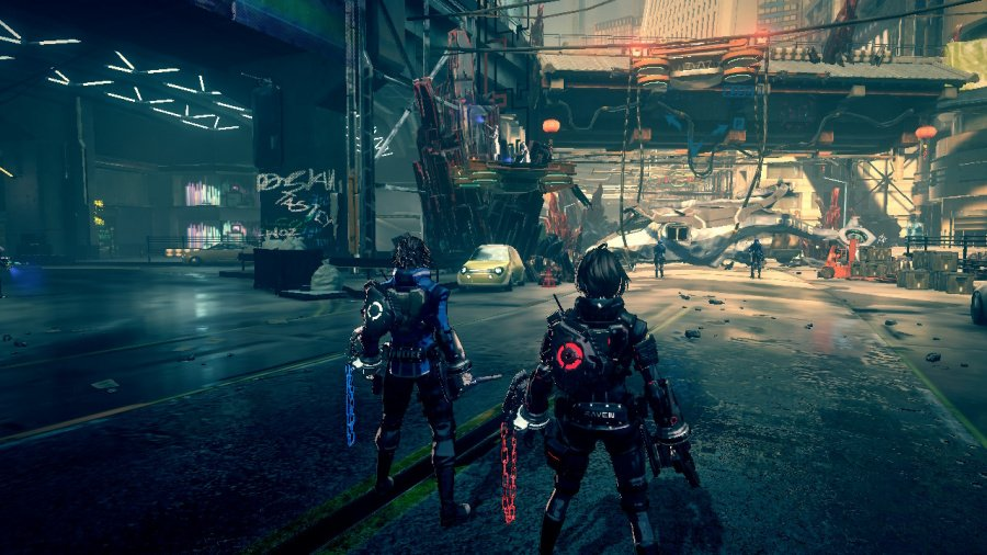 Astral Chain Review - Screenshot 1 of 7