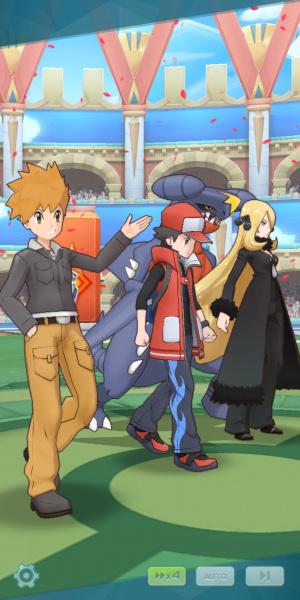 Pokémon Masters Review - Screenshot 2 of 4