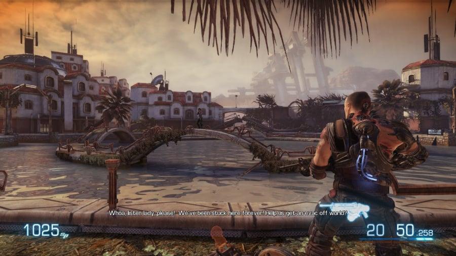 Bulletstorm: Duke of Switch Edition Review - Screenshot 1 of 5