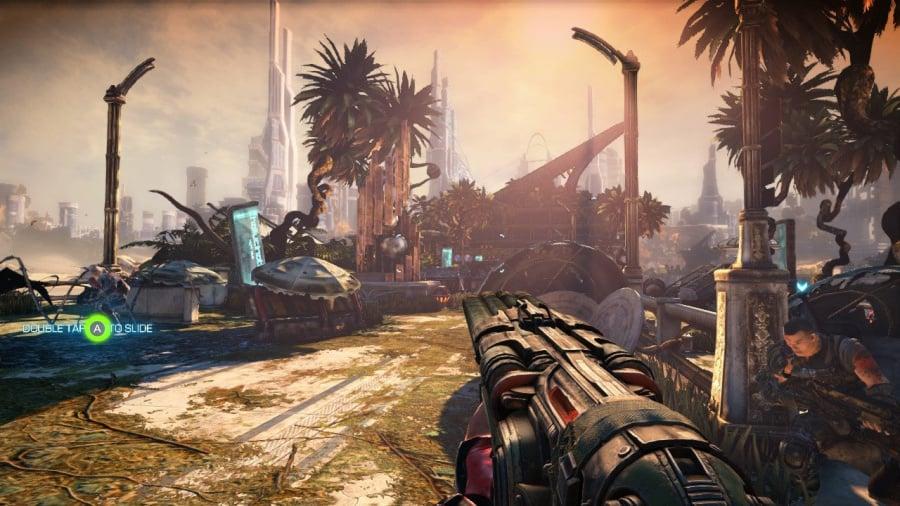 Bulletstorm: Duke of Switch Edition Review - Screenshot 4 of 5