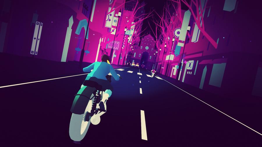 Sayonara Wild Hearts Review - Screenshot 1 of 6