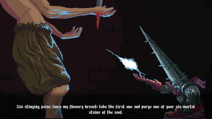 Blasphemous Review - Screenshot 2 of 7