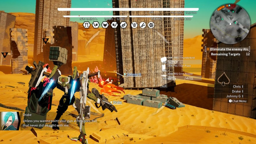 Daemon X Machina Review - Screenshot 1 of 7