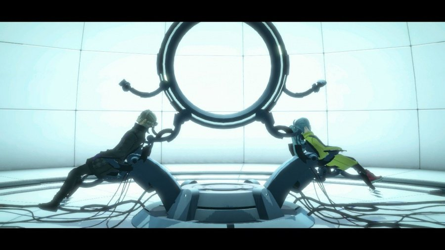 AI: The Somnium Files Review - Screenshot 1 of 7
