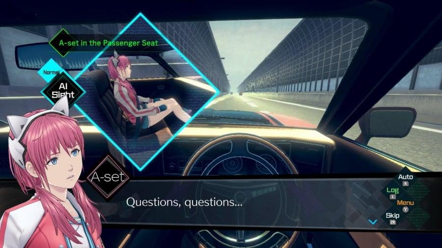 AI: The Somnium Files Review - Screenshot 2 of 7