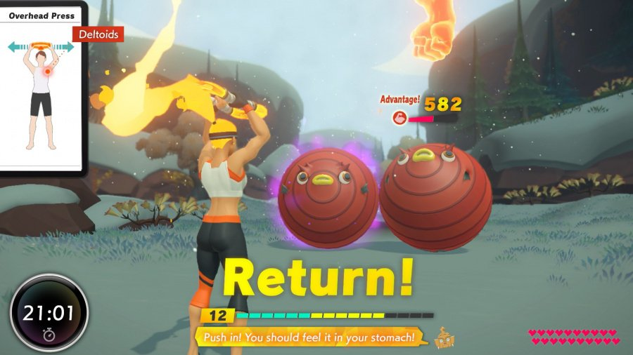 Ring Fit Adventure Review - Screenshot 1 of 3