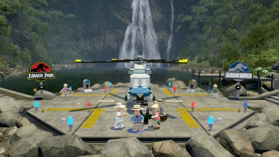 LEGO Jurassic World Review - Screenshot 2 of 3