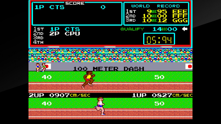 Arcade Archives Track & Field Review - Screenshot 1 of 9