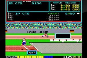 Arcade Archives Track & Field Screenshot