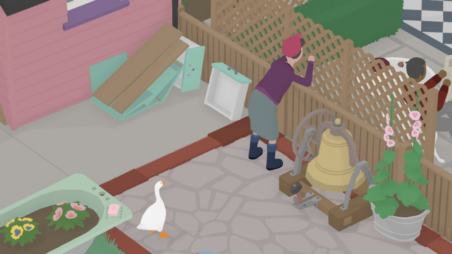 Untitled Goose Game Review - Screenshot 1 of 7