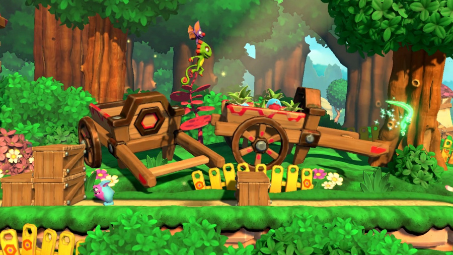 Yooka-Laylee and the Impossible Lair Review - Screenshot 3 of 6