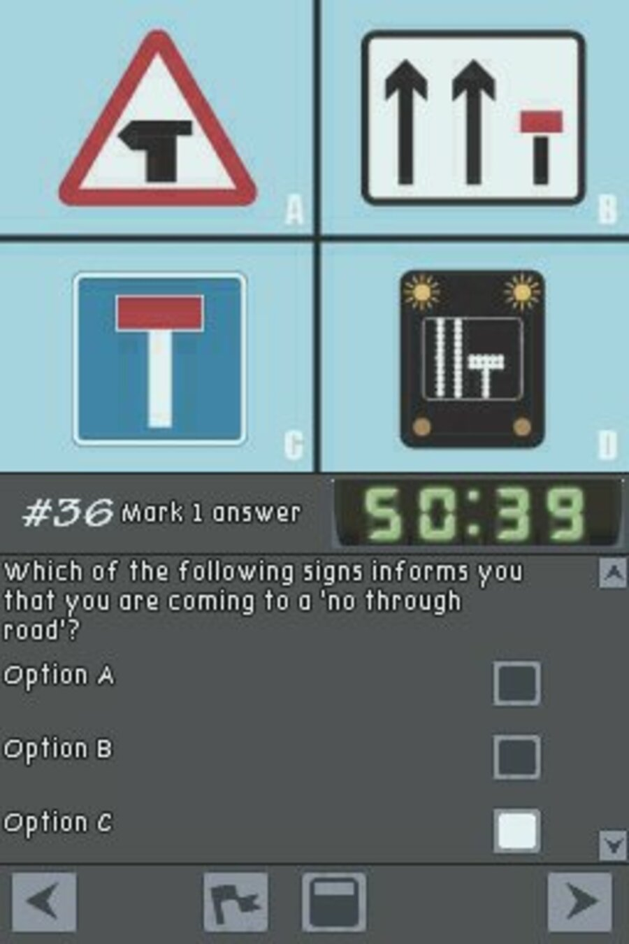 Driving Theory Training Screenshot