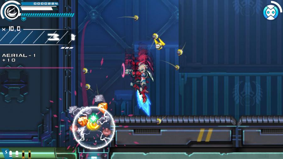 Gunvolt Chronicles: Luminous Avenger iX Review - Screenshot 4 of 6