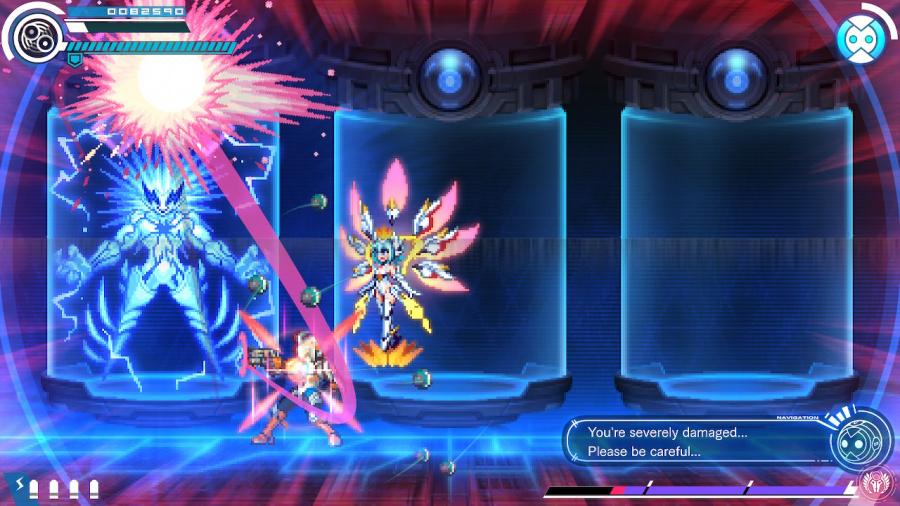 Gunvolt Chronicles: Luminous Avenger iX Review - Screenshot 1 of 6