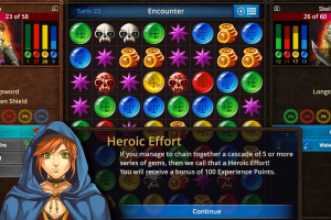 Puzzle Quest: The Legend Returns Screenshot