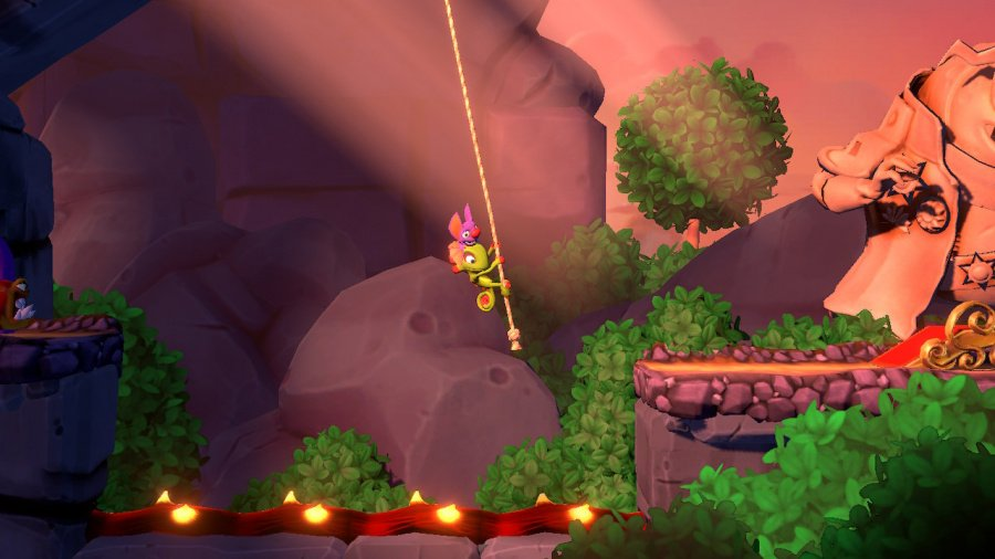 Yooka-Laylee and the Impossible Lair Review - Screenshot 5 of 6